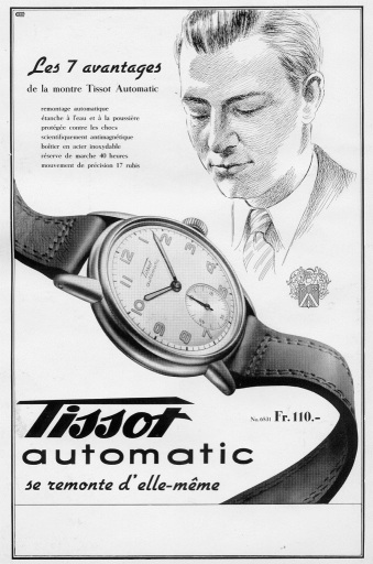 1944_Tissot_Automatic_advertisement