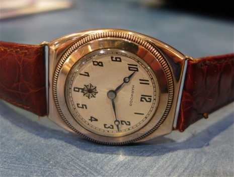 First Automatic Wrist Watch