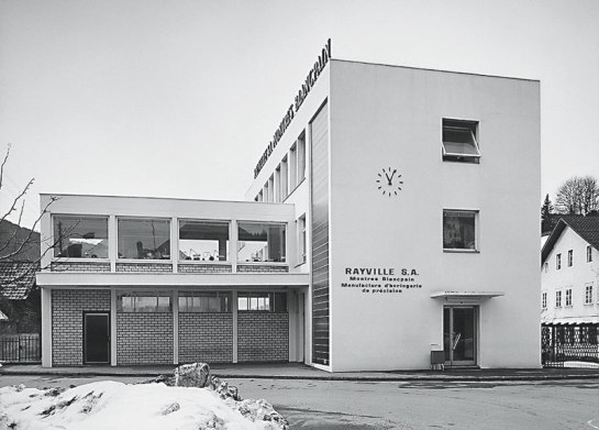 Rayville-Blancpain-building in Villeret 1963