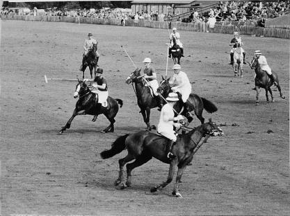 1930s polo in India