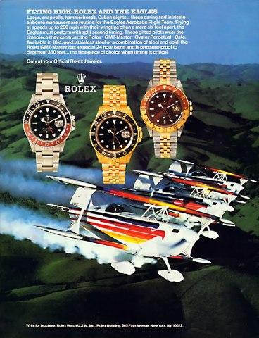 1988 Rolex Ad