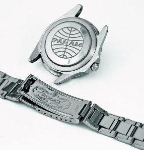 Rolex GMT Master PAN AM Case back