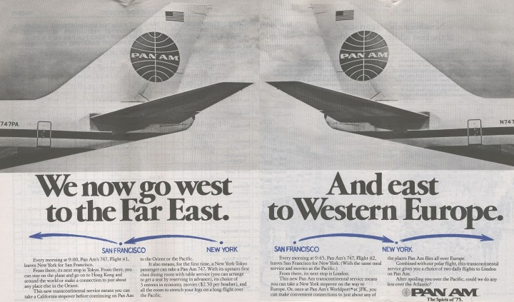 PANAM AD EAST - WEST