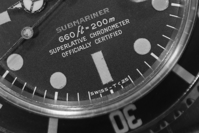 chronometer Sub
